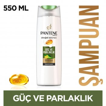 PANTENE DOGAL SENTEZ SAMPUAN 470 ML