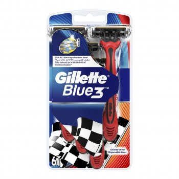GILLETTE BLUE 6 LI