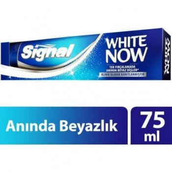 SIGNAL WHITE NOW DIS MAC.75ML
