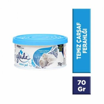 GLADE MINI JEL 70GR CLEAN LINEN