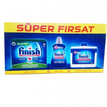 FINISH SUPER FIRSAT SET TAB+PARL 26 CT