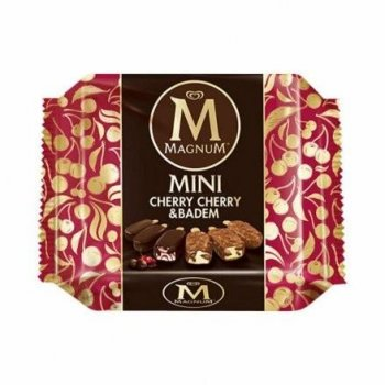 MAGNUM MINI CHERRY BADEM 4X345ML