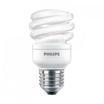 PHILIPS  ECONOMY TWISTER 8 W E27