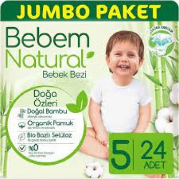 BEBEM JUMBO NATURAL JUNIOR 24LU