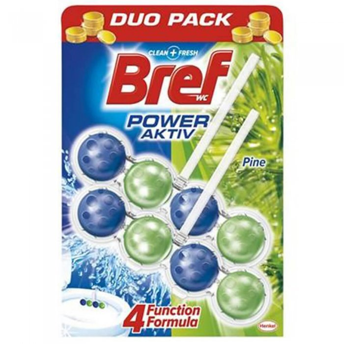 BREF DUO PACK WC 2*50 GR