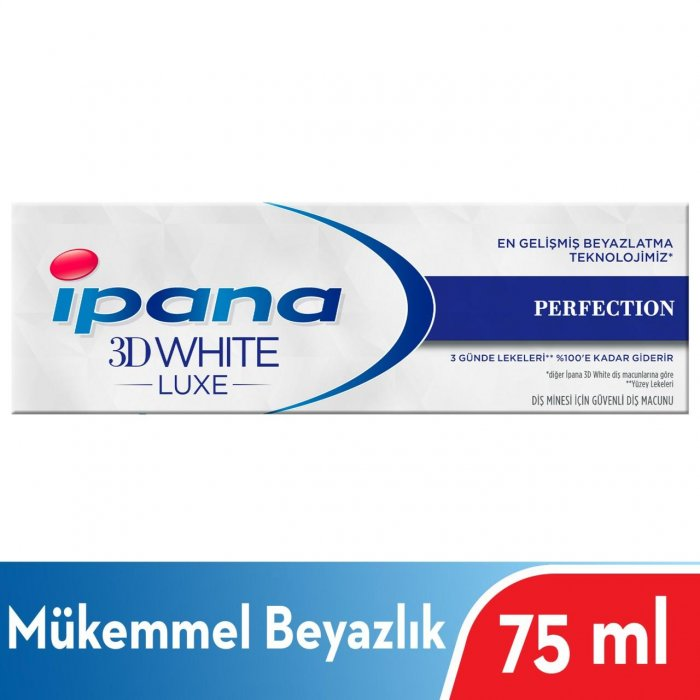 IPANA 3D WHITE LUXE 75 ML