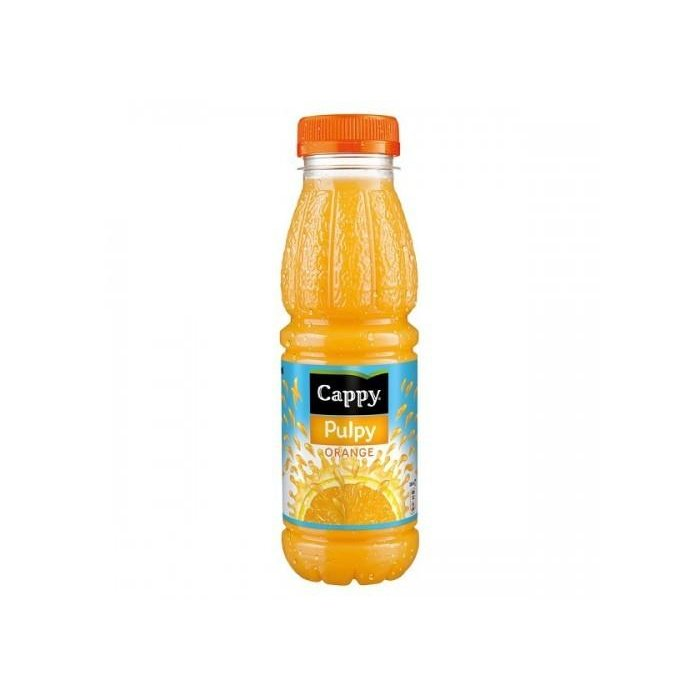 CAPPY PULPY 330ML PORTAKAL PED