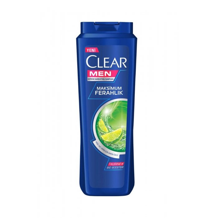 CLEAR MEN GREASE CONT. SAMPUAN 500 ML