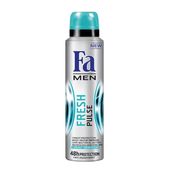 FA MEN DEOSPREY FRESH PULSE 150ML