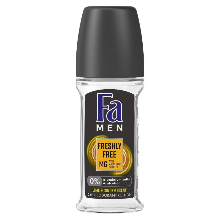 FA MEN ROLLON 24H LIME&GINGER 50 ML